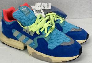 New! Adidas Originals ZX Torsion Bright Cyan Blue Green Men's Size 14 EE4787