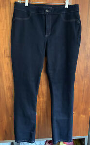 Women's NYDJ Not Your Daughters Jeans Dark Wash Jeans Leggings Size 14