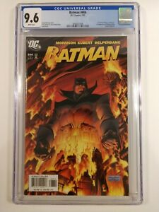 Batman #666 Hot Key Kubert Cover CGC 9.6 NM+ Damian Wayne in Future 1st Print DC