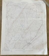 Vintage1942 Tennessee Map~Niota~Sweetwater~TN USGS Topo Map