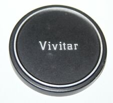 Vivitar - 58mm Slip-on Metal Lens Cap - vgc