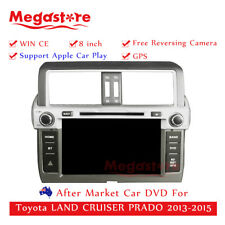 "8"" Car DVD GPS For Toyota LAND CRUISER PRADO 2013-2015 Apple CarPlay auto"