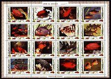 Umm al qiwain 1972 ** mi.1466/81 a peces Fish