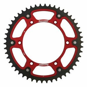 New Supersprox Stealth Sprocket 50T for EC200 03-17 Red