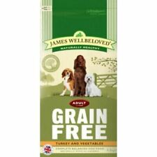 James Wellbeloved Complete Dry Adult Small Breed Dog Food Turkey Veg 1.5kg