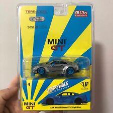 MINI GT 1:64 Nissan GTR R35 LB WORKS CHASE CAR