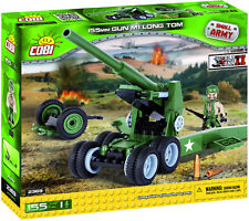 COBI Small Army WWII 'US 155mm Gun M1 Long Tom' 155 Pieces Item #2369