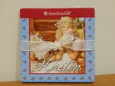 KIRSTEN American Girl Paper Doll - Many Outfits Scandinavian Santa Lucia!