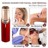 USB Rechargable Epilator for facial hair Removal Leg hair face epilator Lipstick