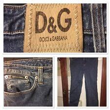 """Vintage Dolce & Gabanna ladies jeans.  36"""" waist. Unworn. Short/cropped."""