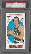 PSA 9 1969 TOPPS BASKETBALL #68 LEN CHAPPELL