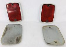 1969 FORD ECONOLINE E100 E200 E300 VAN RED REAR REFLECTORS LEFT RIGHT 69 70 1970