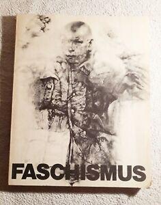 Buch Faschismus Renzo Vespignani Gesellschaft für Bildende Kunst Berlin 1976
