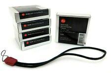 5x Leitz Leica Minilux Muñequera llevar Rojo 18685 en caja como nuevo jm054
