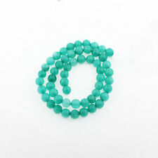 35 Amazonite Turquoise Synthetic Green Beads 6mm Bd261