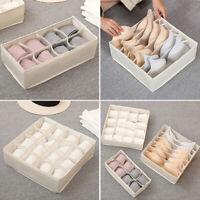 Closet Folding Organizer Underwear Box Bra Storage Ties Drawer Socks Divider Kit