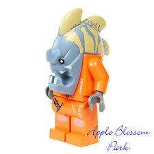 NEW Lego Space Police 3 JAWSON MINIFIG - Alien Fish Head Villian Minifigure 5985