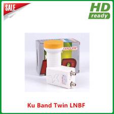 KU Universal Twin Dual Linear FTA Satellite Dish 9750-10600 LNB High Gain