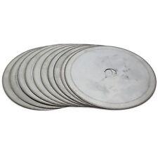 "10Pcs 4"" inch 100mm Super-Thin Arbor 1/2"" Rim 0.25mm Diamond Lapidary Saw Blade"