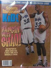 May 1996 Shaquille O'Neal Orlando Magic Sports Illustrated For Kids NO LABEL
