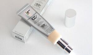 IT Cosmetic CC Cream Full Coverage Foundation SPF 50 LIGHT or Medium 32ml