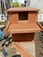 More details for exterior barn owl nest box with front inspection hatch