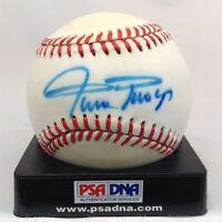 Vintage 1970'S Willie Mays Signed Autographed NL Feeney Baseball PSA DNA COA
