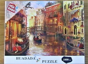 VENICE JIGSAW PUZZLE. 1000 PIECE. BRAND NEW. COMPLETE.