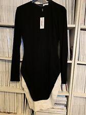 Vionnet Contrast Dress Size Italy 40 / U.K. 8