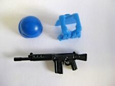 BrickArms NATO / United Nations Soldier Pack -Battle Rifle, Vest, Combat Helmet-