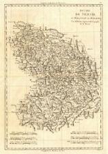 Duché de Silesie et Marquisat de Moravie. Silesia Moravia Poland. BONNE 1789 map