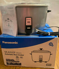 New Commercial Panasonic 23 Cup Electric Rice Cooker Sr 42hzp