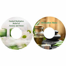 Guided Meditation For Relief Of Stress & Anxiety & Relaxation Music on 2 CDs