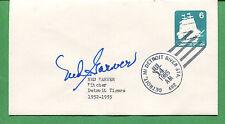 Signiertes Cover Ned Barver 1952 - 1955 Detroit Tigers Pitcher-b0788