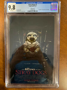 """Stray Dogs #3  - CGC 9.8 - """"Annabelle"""" Movie Homage Variant - Image - 1st Print"""