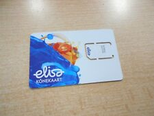 New Elisa Estonia SIM card