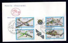 """Italia 1983 : Costruzioni Aereonautiche - FDC """" Cavallino """" / 1° giorno di em."""