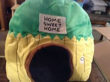 Happy nappers home sweet home monkey pillow