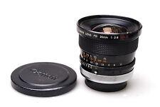 Canon FD 20mm f2.8 S.S.C.