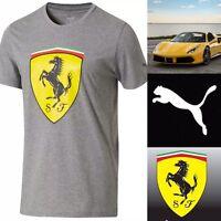 Puma x Ferrari Big Shield Tee Scuderia 🏎Size Medium 🌟LIMITED🌟