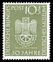 EBS Germany 1953 German Museum Deutsches Museum Munich Michel 163 MNH** cv $48
