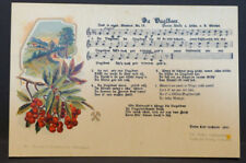 Postcard A. Günther since vuglbeer song in ore. dialect No. 12 Stamp Dr 649