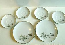 Noritake Janette 6604 Japan Lot of 6 Plates Vintage 60's / 70's