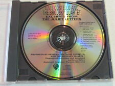 ELVIS COSTELLO EXCERPTS FROM THE JULIET LETTERS 1993 6 TRK PROMO ONLY ISSUED CD