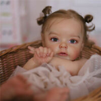 """Reborn Doll Kit Soft Touch Fresh Color Unfinished Doll Parts for 22"""" Reborn Doll"""