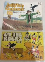 Jollife's Outback 121 and On The Rocks No.2 Magazines