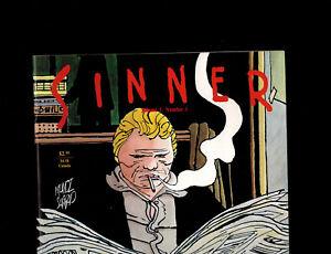 Sinner #1 (Fantagraphics) 1st Print Munoz Sampayo Spiegelman Scarce & High Grade