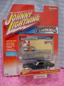 Johnny Lightning 1965 FORD MUSTANG #9∞dark green∞ 2016 Series MUSCLE CARS USA