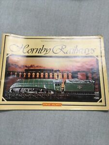 Hornby Railways 00 Catalogue - 25th Edition 1979 With Price List