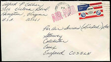 USA 1977 Commercial Airmail Cover to UK #C33099